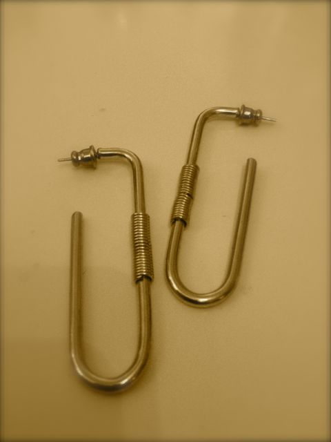 Final Day_paper clip earrings_still-life