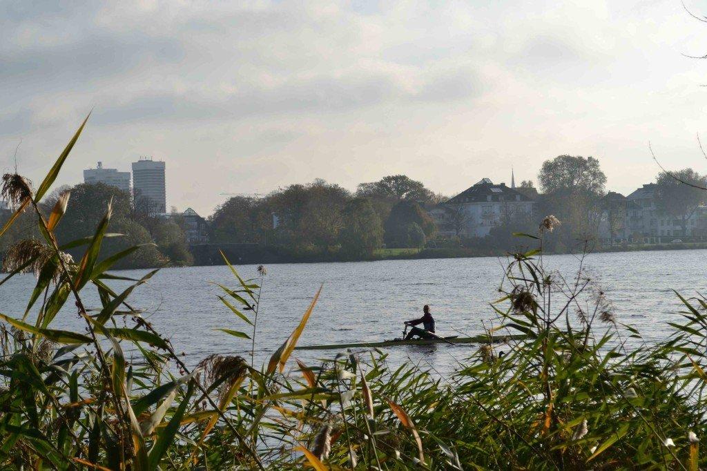 Alsterpark_Hamburg_rower