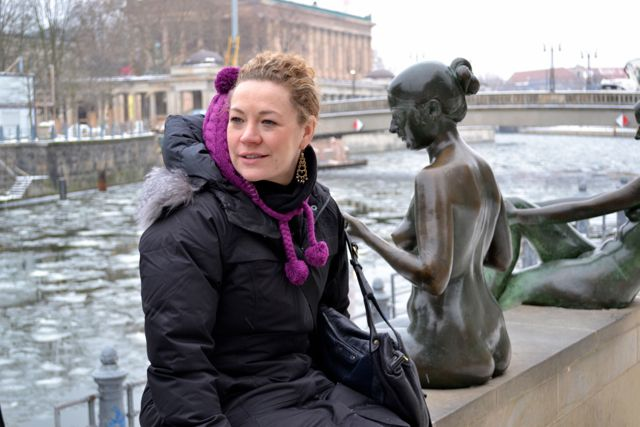 K on Museum Island_Berlin_Jan 2013