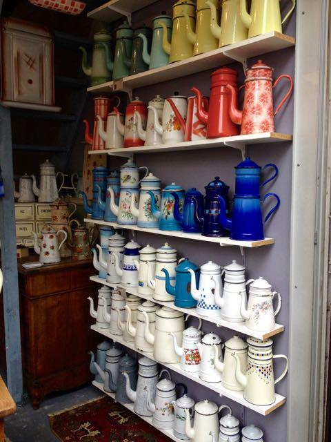 teapots at St. Ouen, Paris