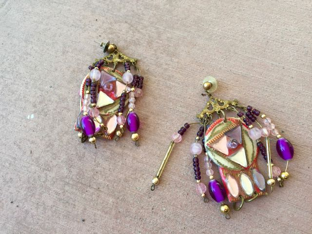 junky earrings