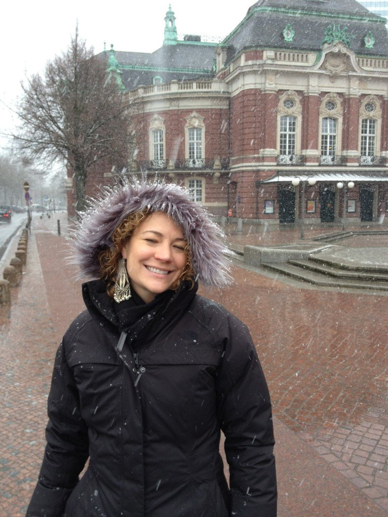 Day 105_snowy day