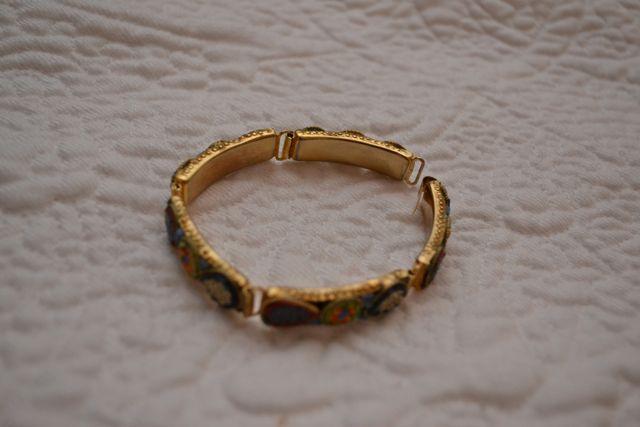 Day 110_millefiore bracelet_still life
