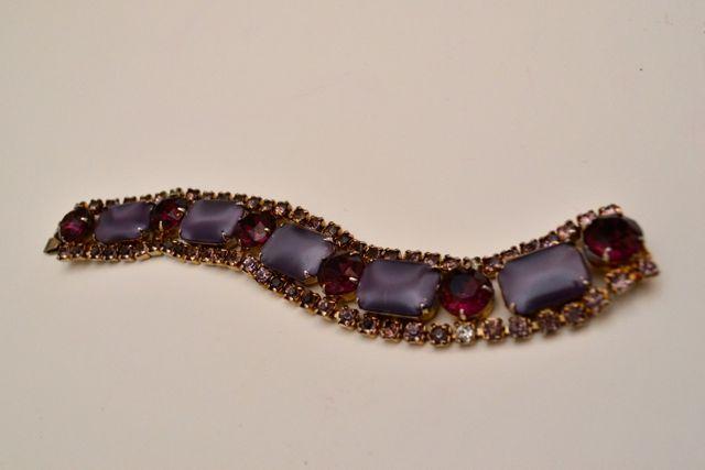 Day 116_vintage purple stone bracelet