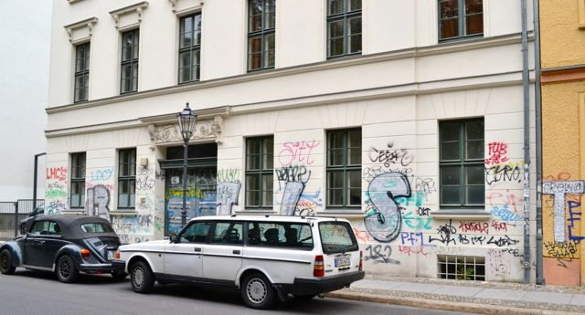 graffiti, Berlin Mitte {photo by Katherine Ainsworth}