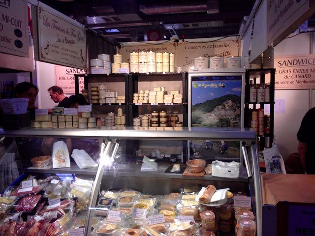 Salon d'Agriculture_pate counter