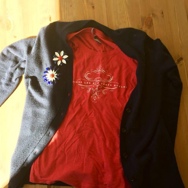 vintage enamel pin ensemble