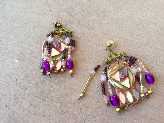 junky earrings