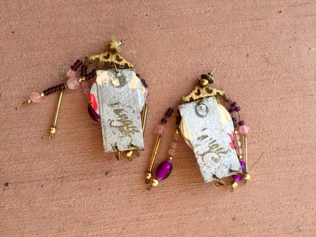 junky earrings_back