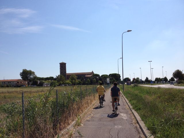 Ravenna_ancient tower_bike ride