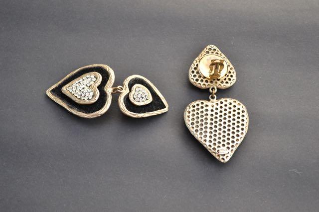 vintage Jacky de G earrings_back