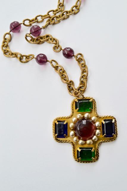 Chanel vintage Byzantine necklace